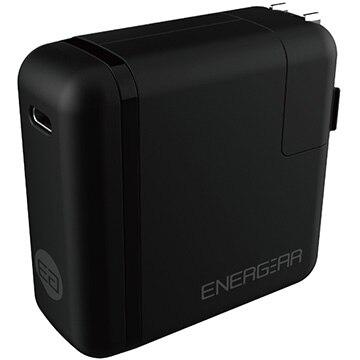 GOPPA 65W USB Type-C ACアダプター 1.8m ブラック E00650A1CBLKUS