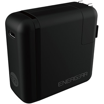 GOPPA 46W USB Type-C ACアダプター 1.8m ブラック E00460A1CBLKUS