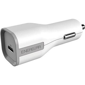 GOPPA 27W USB Type-C カーチャージャー 90cm ホワイト E10270A1CWHT