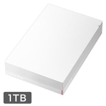 BUFFALO USB3.1 みまもり合図 外付HDD 1TB ホワイト HD-LDS1.0U3-WA