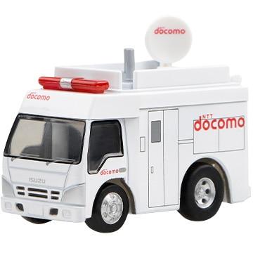 NTTドコモ チョロQ 移動基地局車 DCM-Q