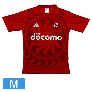 NTTドコモ レッドハリケーンズ アディダスTシャツ(M) T-shirt-M