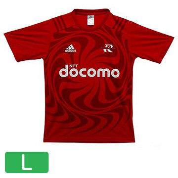NTTドコモ レッドハリケーンズ アディダスTシャツ(L) T-shirt-L