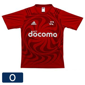 NTTドコモ レッドハリケーンズ アディダスTシャツ(O) T-shirt-O