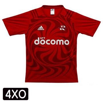 NTTドコモ レッドハリケーンズ アディダスTシャツ(4XO) T-shirt-4XO
