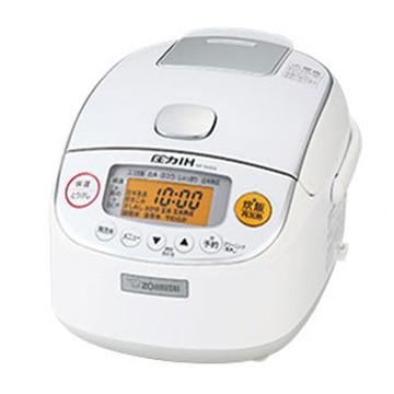 象印 圧力IH炊飯器 極め炊き 3合炊き ホワイト NP-RM05-WA