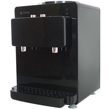 リヴィーズ ペットボトル式コンパクトウォーターサーバー ブラック WS-011B