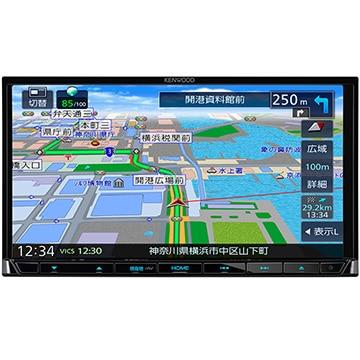 JVCケンウッド 彩速ナビ 7V型メモリーカーナビ/ワンセグ/DVD/USB/SD MDV-L407