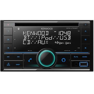 JVCケンウッド CD/USB/iPod/Bluetoothレシーバー MP3/WMA/AAC/WAV/FLAC対応 DPX-U750BT