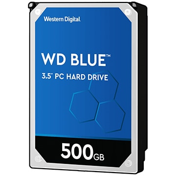 WesternDigital ■Blue シリーズ 3.5インチ 内蔵 HDD 500GB 5400rpm WD5000AZRZ-RT