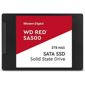 WesternDigital ■Red SA500シリーズ 2.5インチ SSD 2TB SATA6Gb/s WDS200T1R0A
