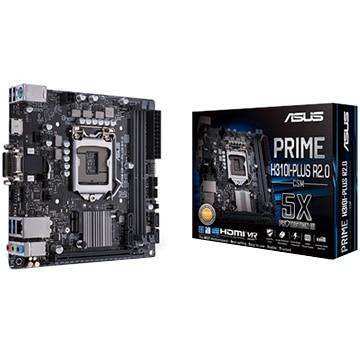 ASUS ■マザーボード Intel H310搭載 LGA1151対応 MiniITX PRIME/H310I-PLUS/R2