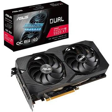 ASUS ■グラフィックカード AMD RX550XT搭載 8GB デュアルファンモデル O DUAL-RX5500XT-O8G-EV