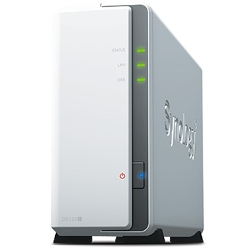 Synology DiskStation 多機能1ベイNAS DS120j