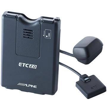 アルパイン NXシリーズナビ 連動型 ETC2.0車載器(光ビーコン付き) HCE-B120V