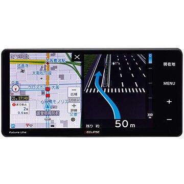 イクリプス Rシリーズ 7V型 メモリーナビ/地デジ/DVD/Bluetooth/WiFi対応 AVN-R10W