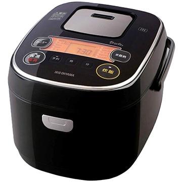 アイリス IH炊飯器 米屋の旨み 銘柄炊き 5.5合炊き ブラック RC-IE50-B