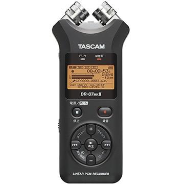 TEAC TASCAM 24bit/96kHz対応 リニアPCMレコーダー DR-07MK2-V2