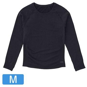 ロゴス ■美フィットスキンUVアンダーシャツ(ブラック M) 36456713