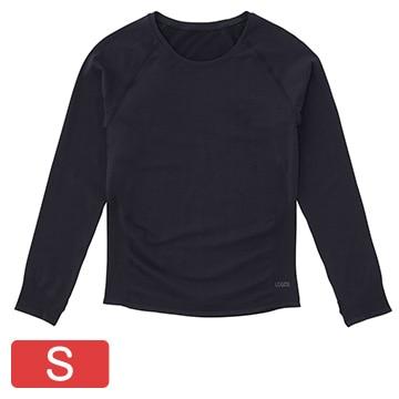 ロゴス ■美フィットスキンUVアンダーシャツ(ブラック S) 36456714