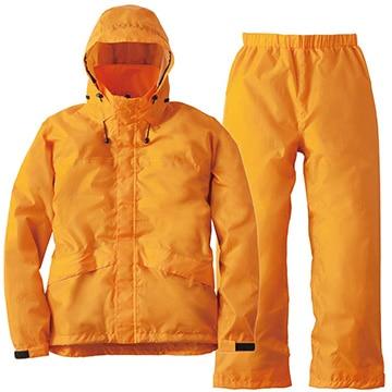 ロゴス ■透湿レインスーツ アルフ オレンジ 4L 28652569