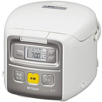 タイガー魔法瓶 マイコン炊飯器 炊きたてミニ 3合炊き ホワイト JAI-R551W
