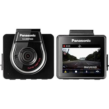 Panasonic フルHDドライブレコーダー 408万画素CMOS搭載 CA-XDR72GD