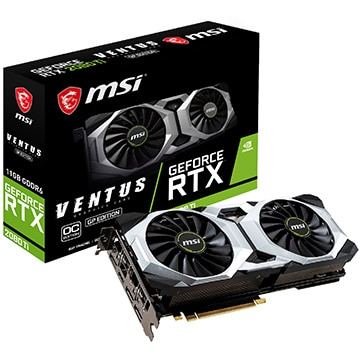 MSI GeForce RTX 2080 Ti VENTUS GP OC GeForce-RTX-2080-Ti-VENTUS-GP-OC