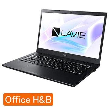 (オフィス付) LAVIE Smart HM Celeron 4GB SSD256GB パールブラック