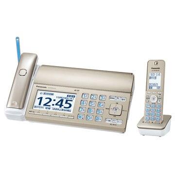 Panasonic デジタルコードレスファクス(子機1台)(シャンパンゴールド) KX-PD725DL-N