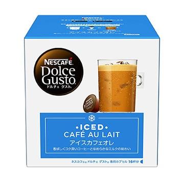 ネスレ ●ドルチェグスト 専用カプセル アイスカフェオレ 16杯分 ICL16001