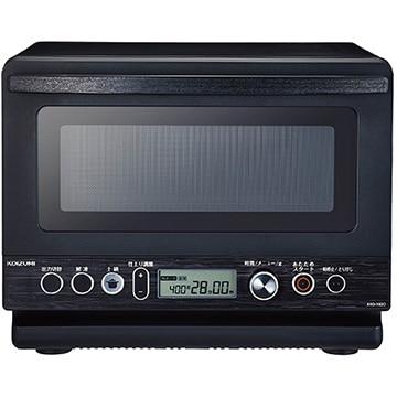 コイズミ ●土鍋付き電子レンジ ブラック KRD-182D/K