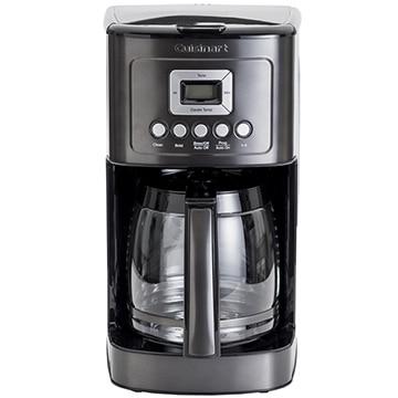 クイジナート ●14カップドリップ式コーヒーメーカー ブラックステンレス DCC3200KJ