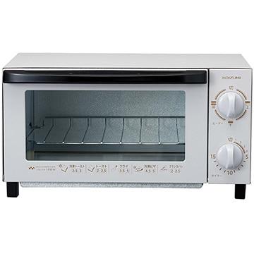 コイズミ ●オーブントースター ライトグレー KOS-1026/H