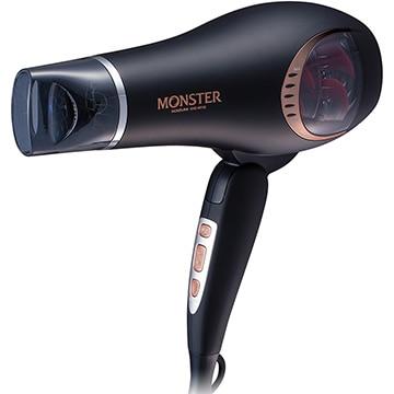 コイズミ ●MONSTER マイナスイオン ダブルファンドライヤー ブラック KHD-W740/K