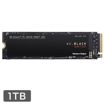 WesternDigital WD Black シリーズ SSD 1TB M.2 PCIe Gen 3 x4 NVM Express WDS100T3X0C