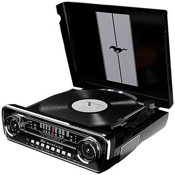 ION Audio MUSTANG LP BK 4イン1・ミュージックプレーヤー ブラック IA-TTS-027