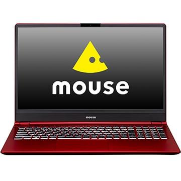 マウスコンピューター ノートパソコン 15.6型 Corei7 8GB SSD256GB レッド N78UM2256W10HR
