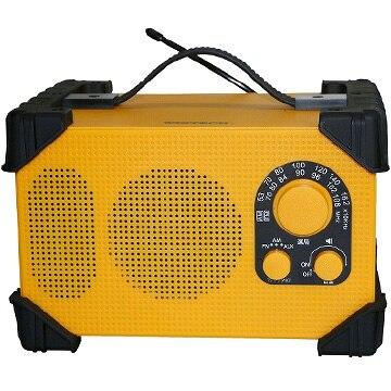 WINTECH 防滴防塵現場ラジオ GBR-3D
