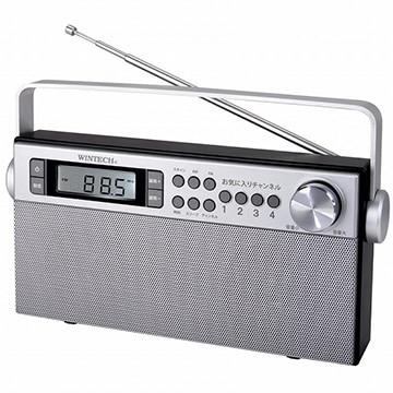 WINTECH AM/FMステレオホームラジオ KOH-S300