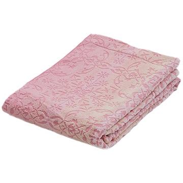 nishikawa ■ タオルケット 綿100% 軽い 吸水 ピンク 甘撚り ふわふわ RR00040001P