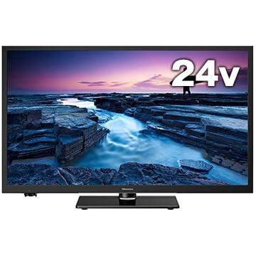Hisense 24V型液晶TV 地デジ/BS/CS Wチューナー搭載 24A50