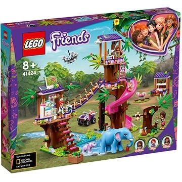 レゴ 41424フレンズのジャングルレスキュー基地 レゴ フレンズ