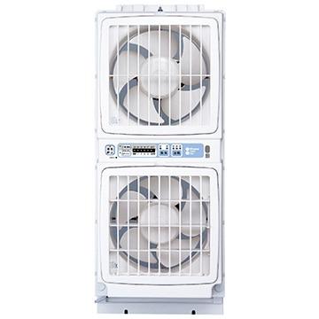 高須産業 窓用換気扇 ウィンドウツインファン 同時給排形 リモコンタイプ FMT-200SM