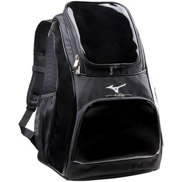 ミズノ ■新型エナメルバックパック ブラック 容量約32L 1FJD702009