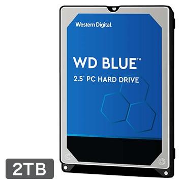 WesternDigital ■WD Blue シリーズ 2.5インチ 内蔵 HDD 2TB 5400rpm WD20SPZX-R