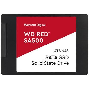 WesternDigital ■WD Red SA500シリーズ 2.5インチ SSD 4TB SATA6Gb/s WDS400T1R0A