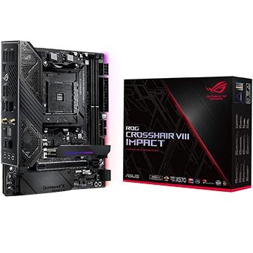 ASUS ■マザーボード AMD X570搭載 AM4対応 MiniDTX ROG/CROSSHAIR/8/IMP