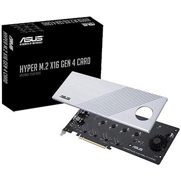 ASUS ■マザーボード アクセサリー NVMe M.2 SSD拡張カード HYPER/M.2/X16/GEN/4