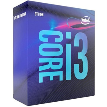 intel ■CFL-R Corei3-9100 3.60GHz 4C/4TH 3xxChipset BX80684I39100